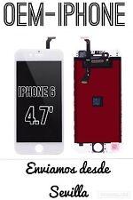 PANTALLA COMPLETA IPHONE 6 BLANCO CALIDAD ORIGINAL +CRISTAL+CENTRADORES+HERRAMIE