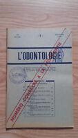 Rivista Mensile - ODONTOLOGIA - 73ème Anno - Novembre 1952, N° 11