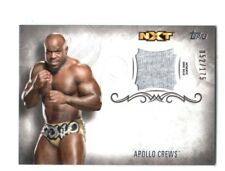 WWE Apollo Crews 2016 Topps Undisputed Event Worn Shirt Relic Card SN 52 of 175