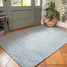 Duck Egg Blue Patio Rugs Weather Resistant Durable Washable Plastic Outdoor Rug