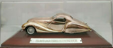 Talbot lago t150ss Figoni solos 1:43 silver plated base metal car altaya