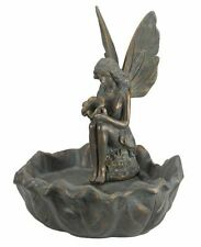 Large Garden Fairy Fountain Solar Powered Pump Decoration Water Feature