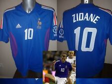 France Adidas Adult L Zidane 10 Football Soccer Shirt Jersey Vintage Real Madrid