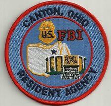 Fbi: ohio-Canton SWAT Police Patch SEK placa de policia unidad especial