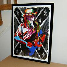 Ed King, Lynyrd Skynyrd, Strawberry Alarm Clock, Guitar, 18x24 POSTER w/COA 1