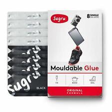 Sugru Mouldable Glue - Family-Safe Formula - Black and White (8-Pack)
