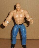 WWE 1999 STEVE STONE COLD AUSTIN Jakks WWF Summer Slam Figure