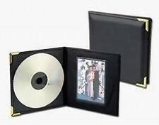 Lot of 100 Single CD/Picture Holder with Brass Corners