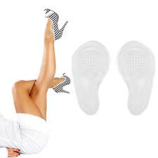 Pair Semelles Coussinets Gel Silicone Support Pad Pour Chaussures Talons Hauts