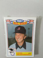 1987 TOPPS GLOSSY '86 ALL-STAR GAME COMMEMORATIVE SET 1-22 CARDS SEALED