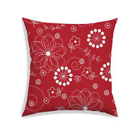 Floral Print Cushion Cover Home Decoration Square Bedding Throw Pillow Case