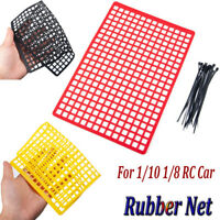 DIY Rubber Protective Window Mesh Luggage Net for 1/10 RC Crawler Accessories