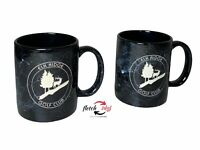 Vintage Elk Ridge Golf Course Atlanta Mi 10 oz Ceramic Coffee Cups