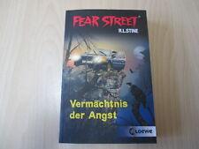 R. L. Stine - FEAR STREET - VERMÄCHTNIS DER ANGST - Doppelband - TB