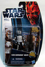 Star Wars Clone Commander Wolffe CW17 The Clone Wars New Sealed