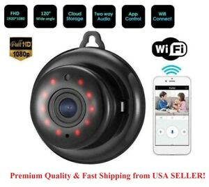 Wireless Wifi Baby Monitor Spy Nanny Security Camera with Night vision IR 1080P