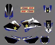 Kit Déco Moto 85 Yz Yamaha Stickers Autocollant Rockstar Motocross Bleu