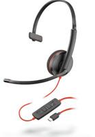 Plantronics Blackwire C3210 Headset - Mono - USB Type C  209748-101