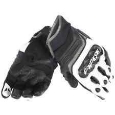 Dainese Carbon D1 Short Street Motorcycle Gloves Black White Anthracite Small