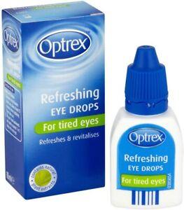 Optrex Refreshing Eye Drops for Tired Eyes - 10ml FREE FAST UK P&P