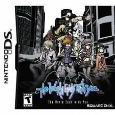 Nintendo DS Game The World Ends With You Boxed