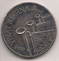 2006-£5 coin-VIVAT REGINA.