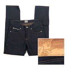Naked & Famous Denim Super Skinny Guy Jeans Kakishibu Selvedge Blue Size 29 X 29