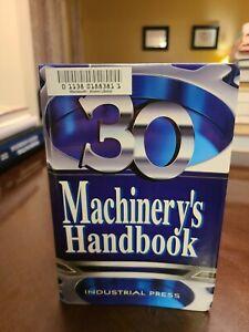 Machinery's Handbook 30 Industrial Press 2016