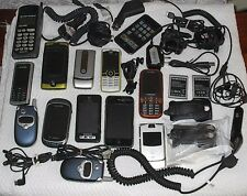 CELL PHONE LOT OF USED T-Mobile ATT Cricket iPhone Samsung Motorola Nokia + Acc