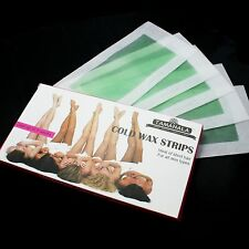 Hot 10 PCS 20 Used Aloe Vera Cold Wax Leg Body Care Hair Removal Strips Paper