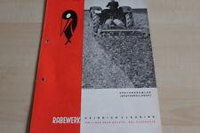 144125) Rabewerk Spatenkrümler Spatenrollegge Prospekt 08/1969