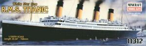1/350 Minicraft RMS Titanic 11312 scale model kit New sealed