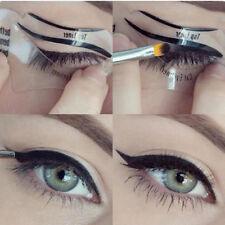 Eyeliner Stencil Eyes Template Shaper Eye Makeup Kit Stencils Card Model Guide