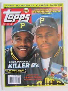 Topps  Magazine - Collectors' Edition # 6 1991 Bonds And Bonilla