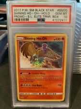 PSA 10 Gem Mint - SHINING HO-OH HOLO - Pokemon: Shining Legends Black Star SM70
