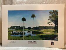 Timothy Barr TPC Sawgrass Tournament Players Club Hole 16 & 17 Golf Lithograph