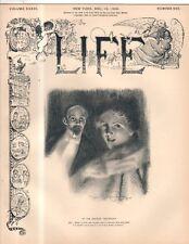 1900 Life December 13 - Yale creams Harvard in Football; Virginia woman denied