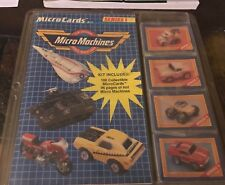 1989 Micro Machines MicroCards Kit. Series 1 In package
