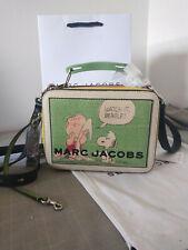 Marc Jacobs PEANUTS® X MARC JACOBS THE MINI BOX BAG Hot sales.