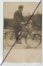 More details for aberayron (aberaeron)  the water supply !  - man with jugs on bicycle rp