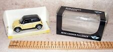 BMW R50 Mini Cooper Official Merchandise Pull Back Model in Box