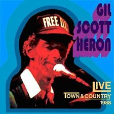 Gil Scott heron - Live At The Town & Country 1988 -2 CD set - New CD