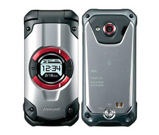 KYOCERA KYF33 TORQUE X01 WIFI TOUGH RUGGED ANDROID FLIP PHONE UNLOCKED SILVE