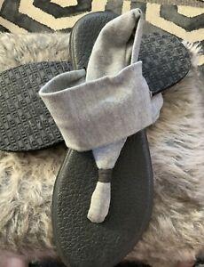 Sanuk Yoga Sling 2 Womens Footwear Sandals - Grey Size 7  💕