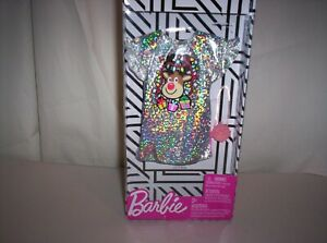 2019 Barbie Clothes Silver Christmas Rudolph