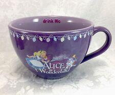 Alice in Wonderland Disney Store Large Purple Coffee Cup Mug 20 oz