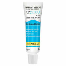 AZCLEAR ACTION MEDICATED LOTION 25G FOR PIMPLES ACNE BLACKHEADS EGO AZELAIC ACID