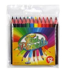 MINI matite colorate - 12 colori diversi, da parte di mondo del colore