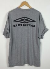 UMBRO Furman SOCCER VINTAGE 90s Retro Festival dello Sport Top T Shirt Urban UK L