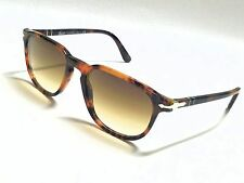 New PERSOL PO3019S 108/51 CAFFE Havana/Crystal Brown Gradient 52mm Sunglasses